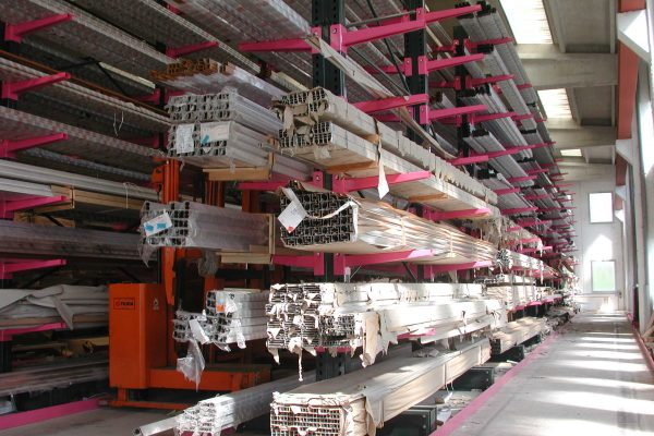 ROSSS cantilever racking system