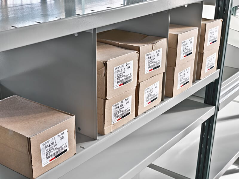 Train Compactible Shelving ROSSS UK