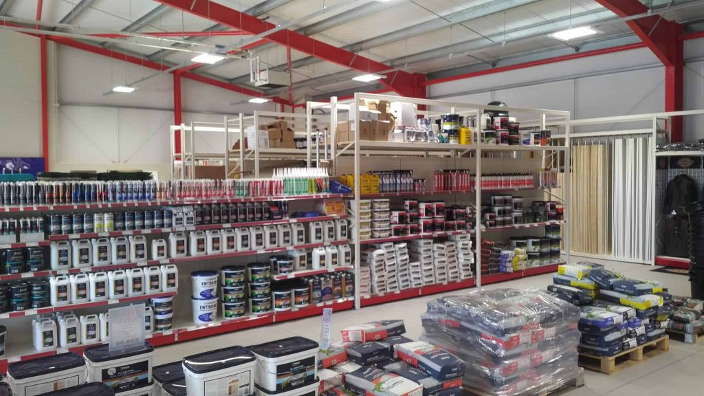 DIY Stores Attract More Customers with DIY Store Racking