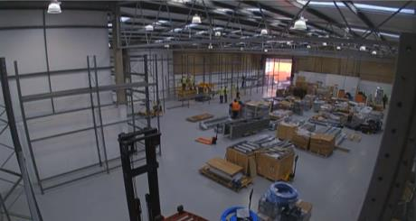 A Racking Shopfitting Project in Time Lapse