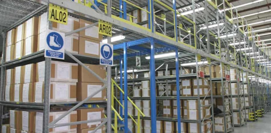 Kharafi National Chooses ROSSS Dublez For Mezzanine Racking